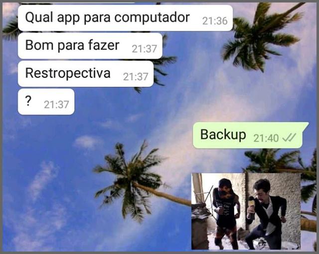 Backup - Flagras de Atendimento