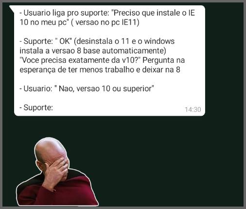 Internet Explorer - Flagras de Atendimento
