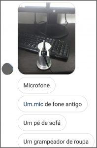 Microfone MacGyver - Flagras de Atendimento