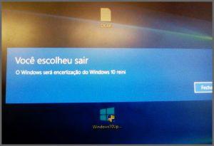Windows dodói - Flagras de Atendimento
