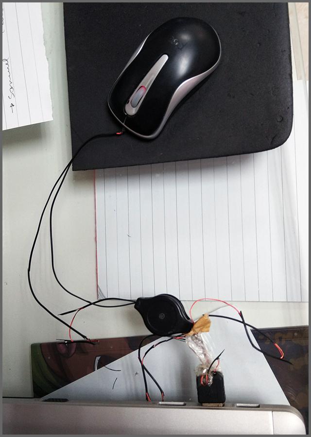Gambi mouse - Flagras de Atendimento