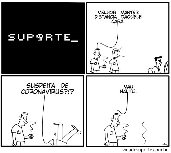 Suspeita de Coronavírus - Vida de Suporte