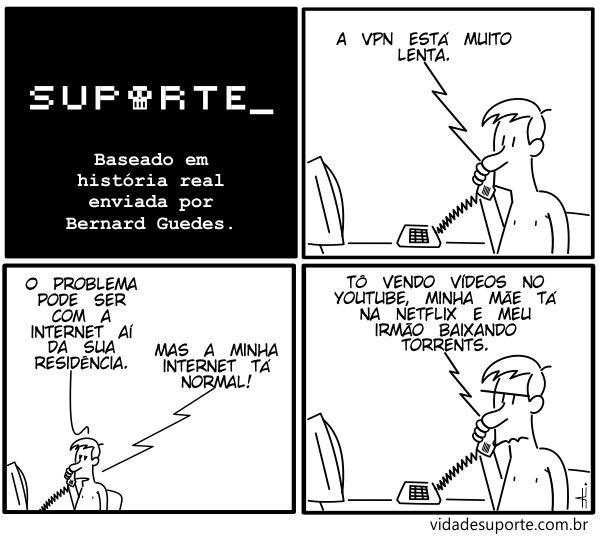 VPN Lenta - Vida de Suporte