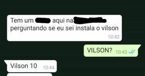 Vilson - Flagras de Atendimento