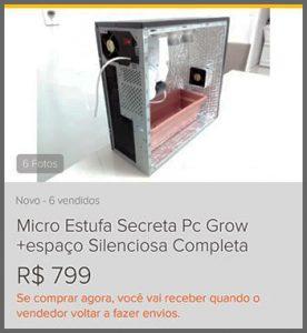 Micro Estufa - Flagras de Atendimento