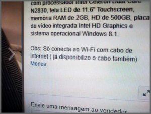 Cabo Wi-Fi - Flagras de Atendimento