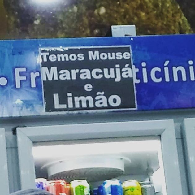 Mouse de Maracujá - Flagras de Atendimento