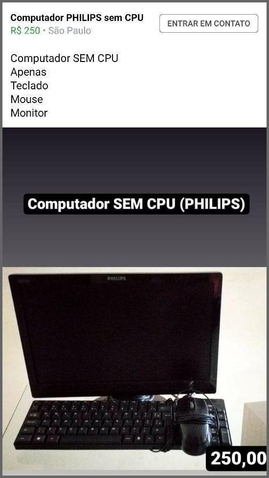 Sem CPU - Flagras de Atendimento