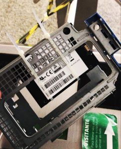 SSD Instalado com sucesso - Flagras de Atendimento