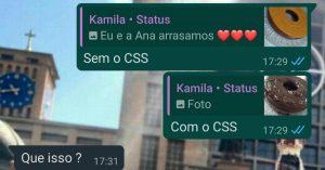 CSS - Flagras de Atendimento