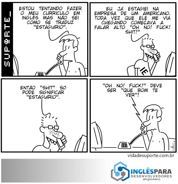 Inglês para Desenvolvedores - Vida de Suporte