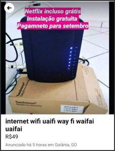 Wi-Fi - Flagras de Atendimento