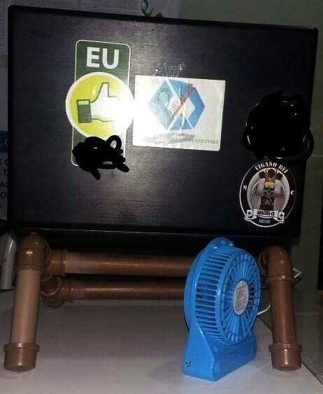 Cooler Externo - Flagras de Atendimento