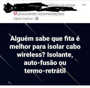 Isolamento de Cabo Wireless - Flagras de Atendimento
