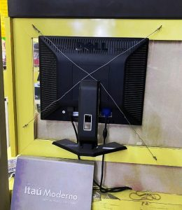Monitor Fixado - Flagras de Atendimento
