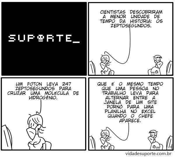 Zeptosegundos - Vida de Suporte