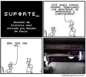 Manutenção de Impressoras - Vida de Suporte