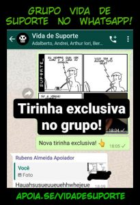 Grupo Vida de Suporte no WhatsApp