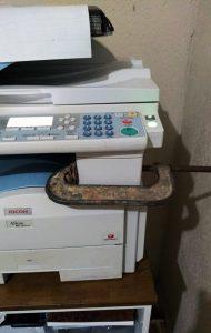 Ajuste na Impressora - Flagras de Atendimento