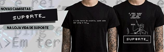 Camisetas Vida de Suporte
