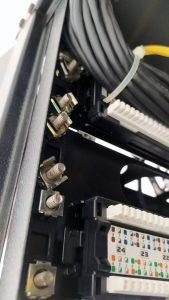 Rack montado pelo Aspira - Flagras de Atendimento