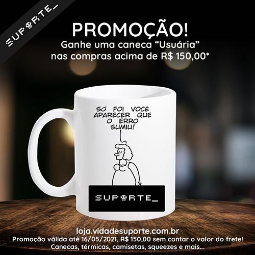 Promoção Caneca Só Foi Você Aparecer!