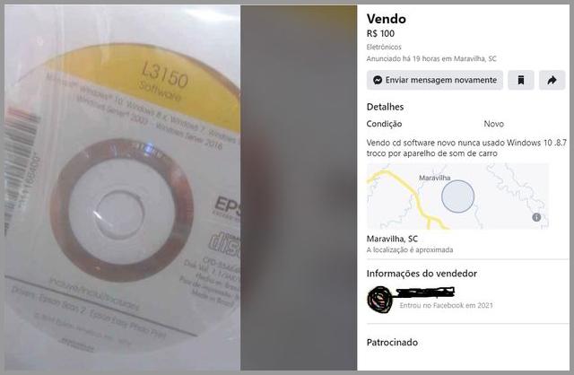 Vende-se CD - Flagras de Atendimento