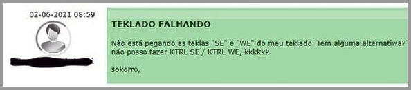 Ktrl+SE Ktrl+WE - Flagras de Atendimento