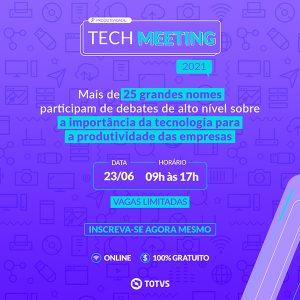 Tech Meeting 2021 TOTVS