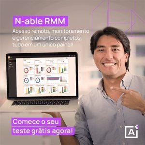 N-able RMM teste grátis!