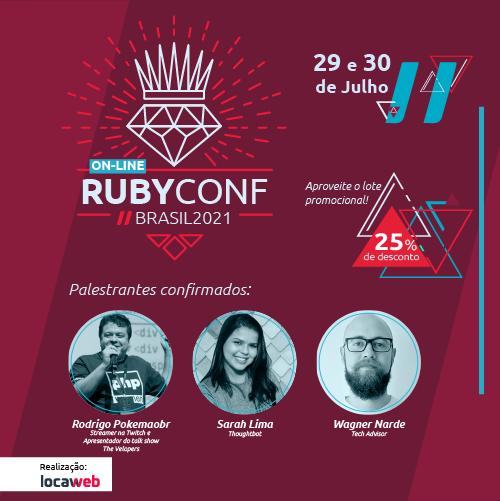 RubyConf Brasil 2021 Online