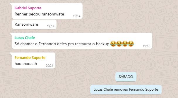 Fernando - Flagras de Atendimento