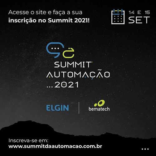 Summit Automação 2021 Elgin e Bematech