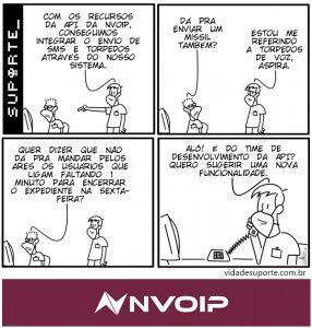 API da Nvoip - Vida de Suporte