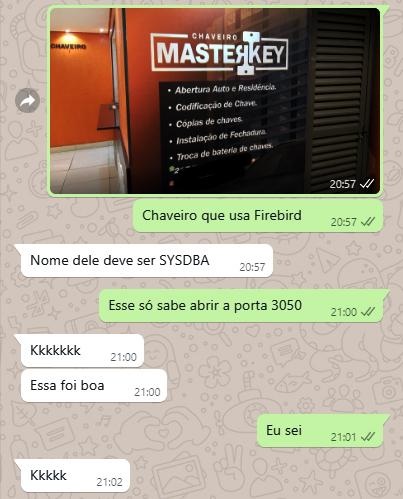 Masterkey - Flagras de Atendimento
